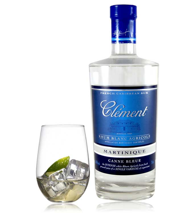 Souvent Rum Journal: Rhum Clement's Canne Bleue Rhum Blanc Agricole - The  NN84